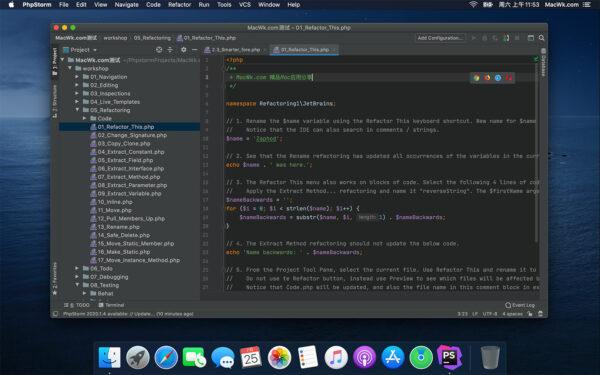 PhpStorm 2021.2.2 破解版 (智能的PHP开发集成环境)